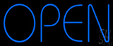 Blue Open Block Neon Sign