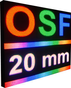579OSF20mm Outdoor Programmable & Scrolling - Full Color LED Sign 2